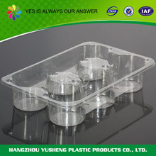Non-slip disposable plastic pet donut tray