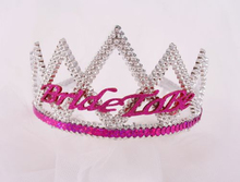 Wholesale hot sell beauty queen diamond pageant crown bride to be tiara