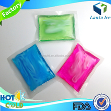 medical therapy reusable hot cold gel ice pack