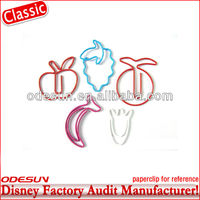 Disney factory audit plastic paper clip usb flash drive 143945