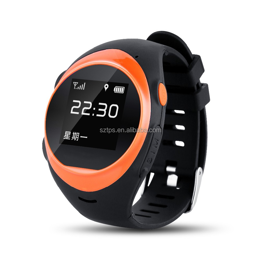 Multi-functions GPS tracking wifi smart watch 320*240 OLED NO camera Bar smart watch u8/88 3G with Remote monitoring