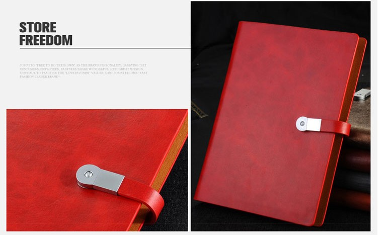 diary notebook PU leather notebook hardcover notebook