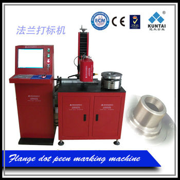dot peen pnuematic flange marking machine with patent, ISO9001:2008 and CE certificate