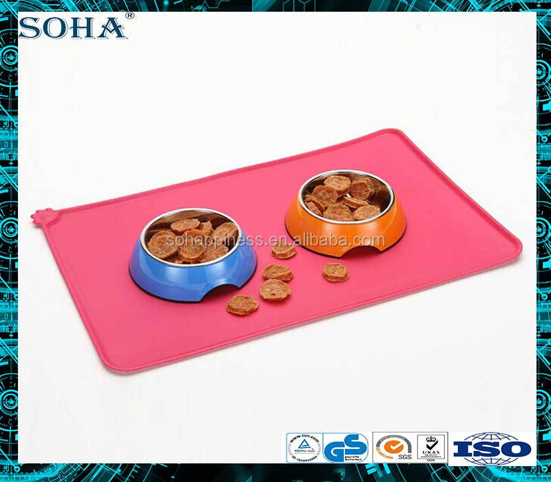 SOHA professional Guangdong Rubber silicon mat pet