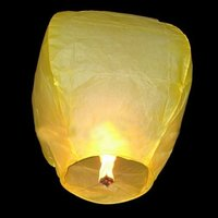 Cheap Paper Crafts Luminary Sky Lantern Importers