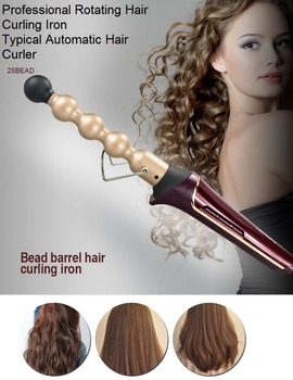 HOT!!! Magic Pro Perfect Hair Curlers Electric Curl Ceramic Spiral Hair Rollers Hair Curling Curler Iron Wand Salon