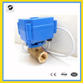 CR01 dn15 DC24V electric motor ball Valve for cooling system
