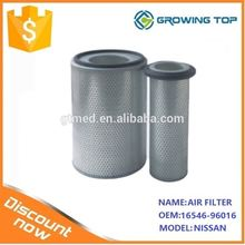 China manufacturers auto parts air filter 16546-96016 with Cheap price