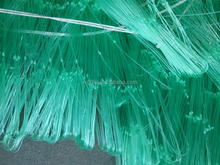 Cheap green price nylon mono fishing nets in china double knotted for sale