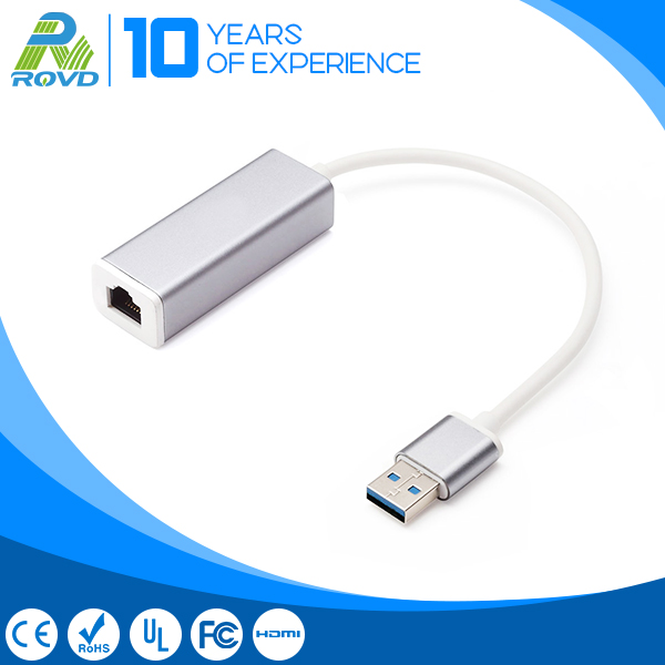 Aluminium Lan Usb 3.0 ethernet adapter