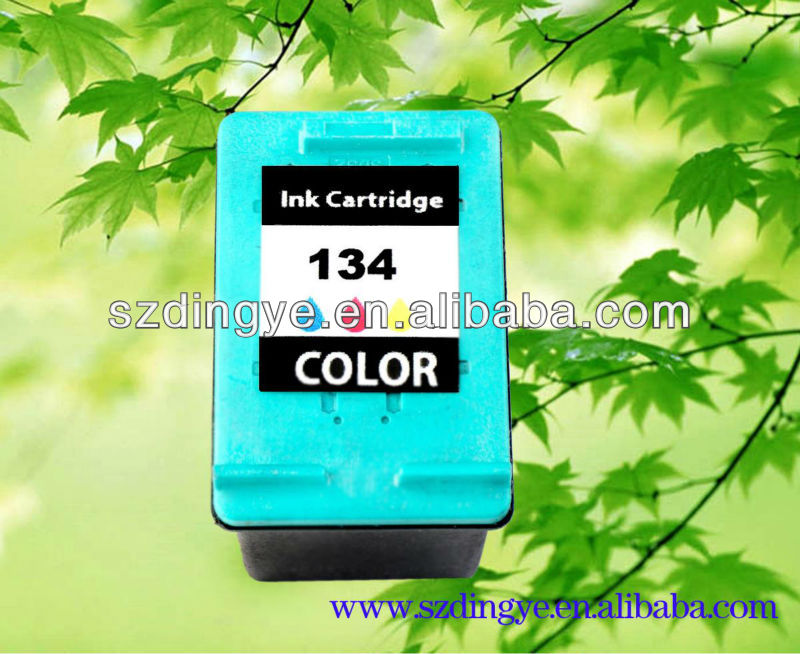 supplier for hp 134 C9363H printing ink cartridges