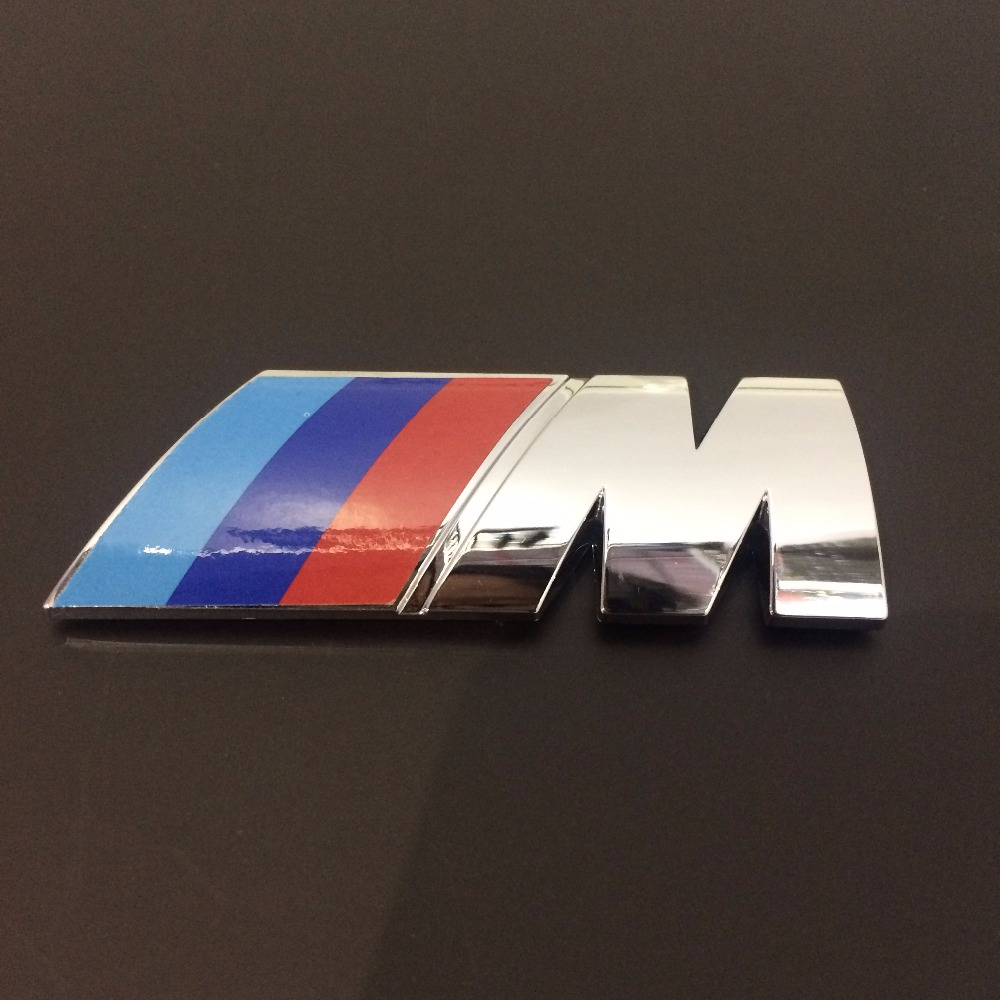 Deluxe 3D Plastic Car Badge M Backlit Car Emblem for BMW M Series China factory