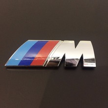 Deluxe 3D Plastic Car Badge M Backlit Car Emblem for M Series China factory