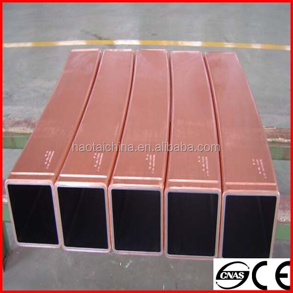 High quality supplier sales Copper Mould Tube Used for CCM with Chrome Plating/ cooper tube manufacturer