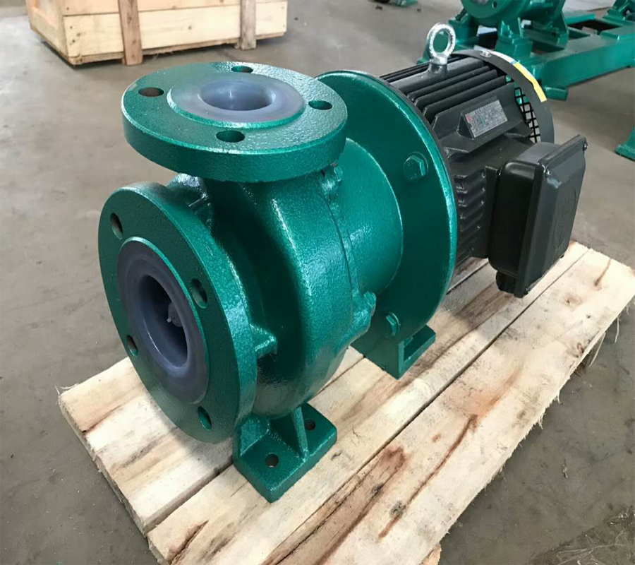 ZFT fluorine plastic chemical has no leakage anti-corrosive magnetic pump