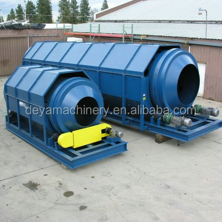 compost trommel screen machine for sorting plant