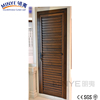 European style China supplier aluminum frame escape security door for sale