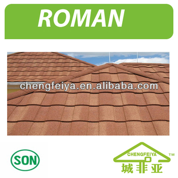Internetional Standard Stone Chip Roofing