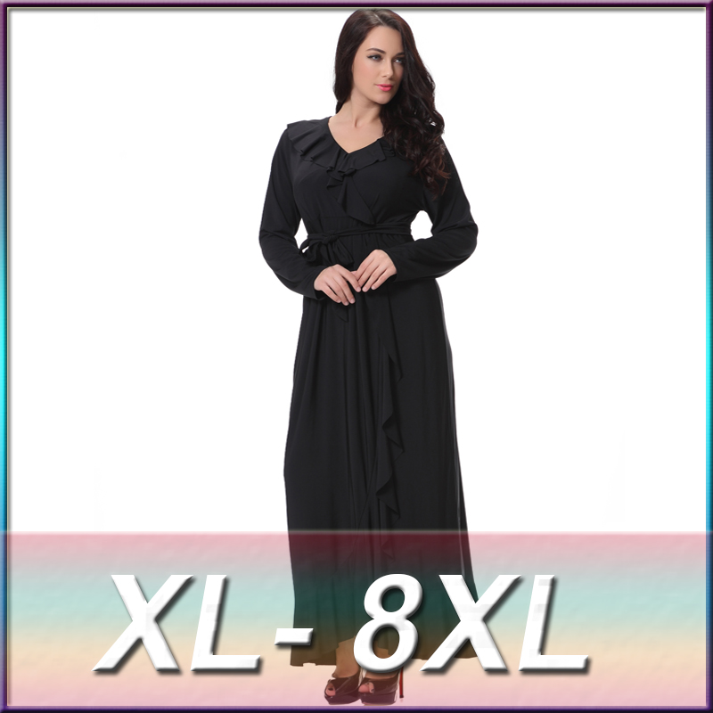 Western Party Wear Dresses Plus Size Women Clothing Evening Dress
