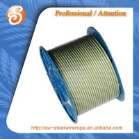 for auto spare part of 1x19 1.5mm,galvanized steel wire rope