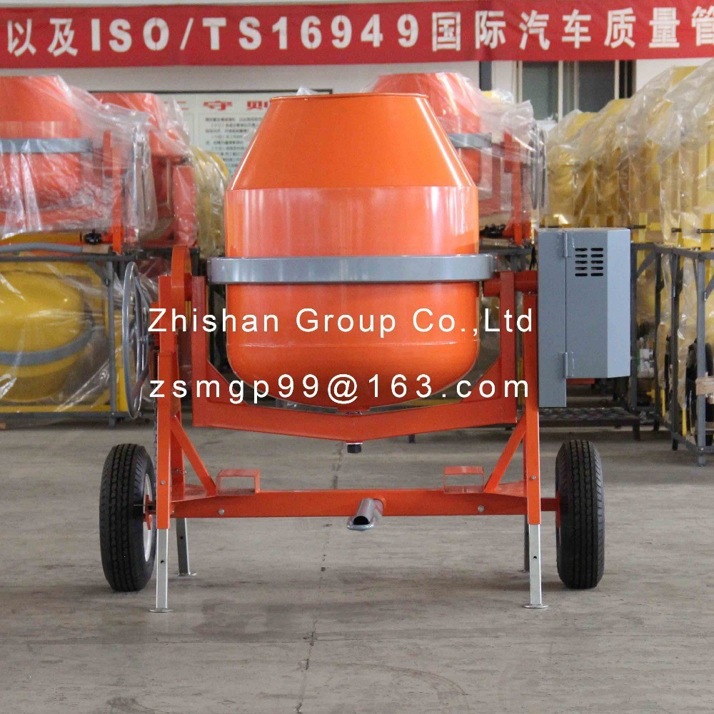CMH800 (CMH50-CMH800) Portable Electric Gasoline Diesel Concrete Mixer 800L