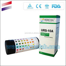 Multistix Bayer urine test strips 10SG CE ISO