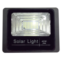 Aluminum alloy backyard led flood Silicon high power solar panel light