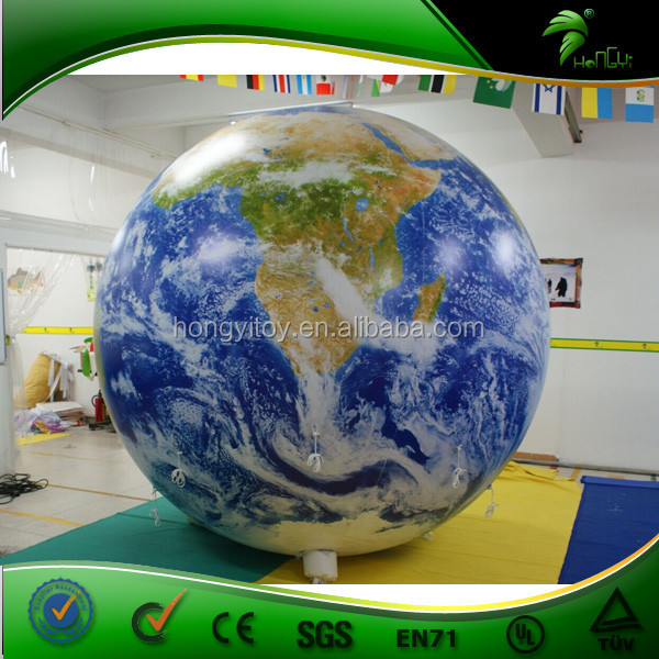 Customized Inflatable Earth Model Planet Balloon Inflatable Helium Balloon Event/Decoration/Party
