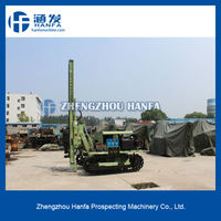 with air compressor,high efficiency ~ HF100YA2 rock bore hole drilling machine