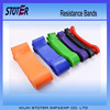 5pcs crossfit colorful latex loop stretch band set