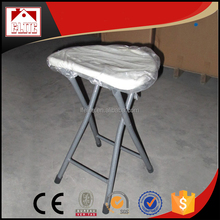 Easy-handling foldable cheap plastic chair/plastic material folding bench