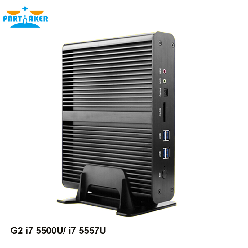 Partaker G2 5th Gen Intel I7 5500u Processor Game King Mini Pc for gamer