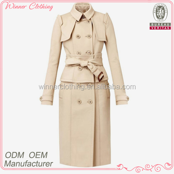 Hot selling high quality new design women formal coat and skirt