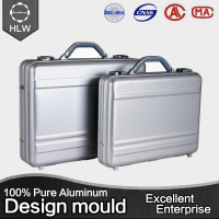 HLW factory direct stable aluminum pilot hand luggage protective case