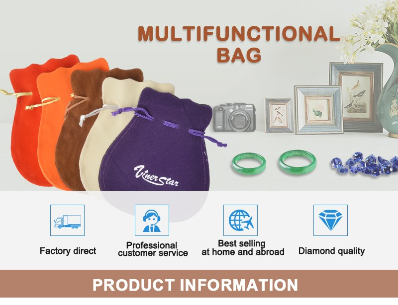 Wholesale Velvet Coin Packing Pouch, Beads Packing Bags