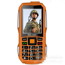 Waterproof Phone 240h Battery Long Standby Loud Sound Shockproof Outdoor Phone Old Man Elder Phone