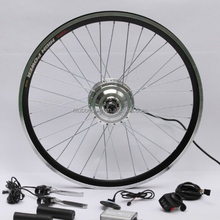 Cheapest Electric Bicycle 700c Wheel Kit With LCD Display