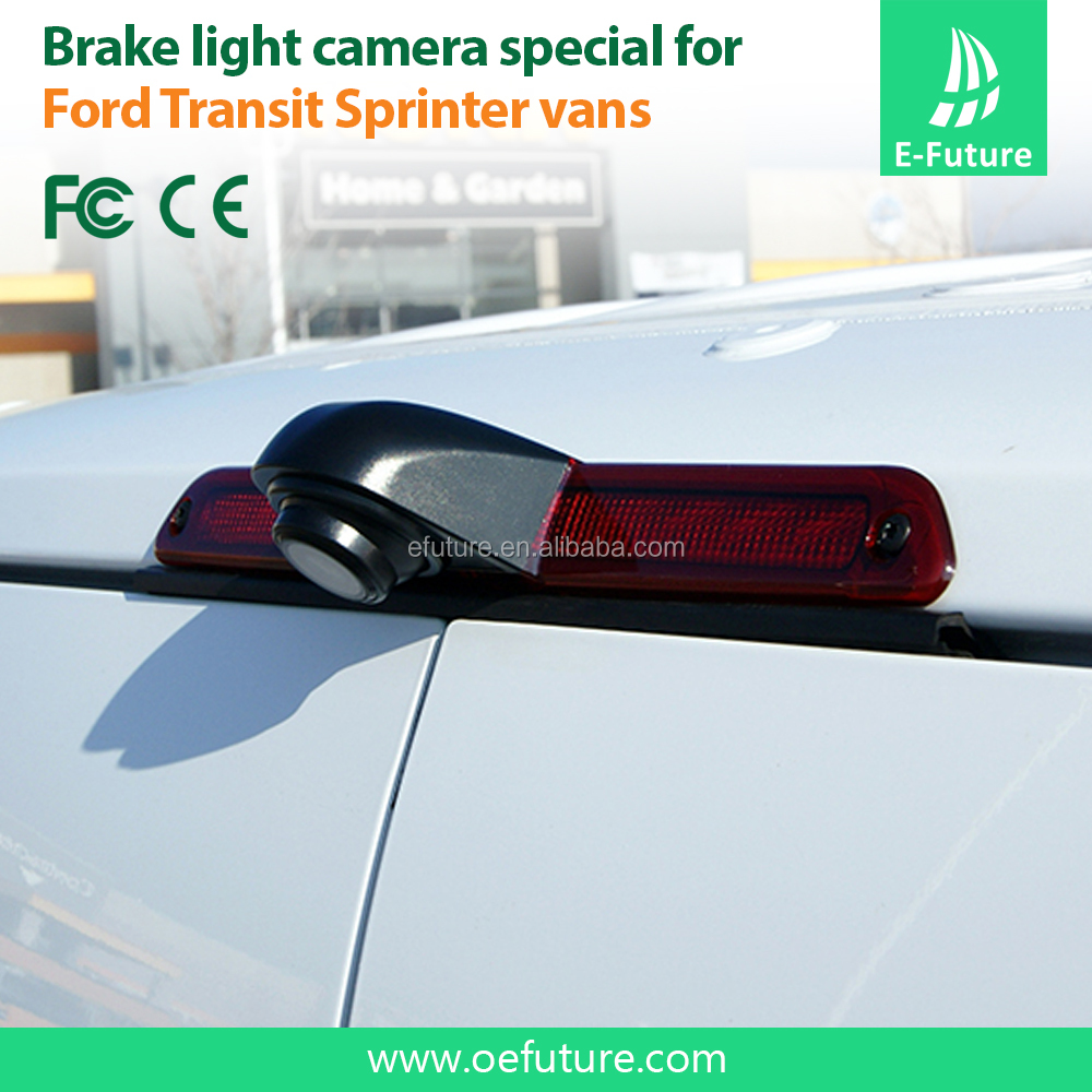 Reversing Rear View Backup 3rd Brake Light Camera Fit For Ford Transit Van