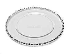 Wedding Bead Charger Plate