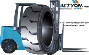Hot sale forklift solid tires new press-on tyres