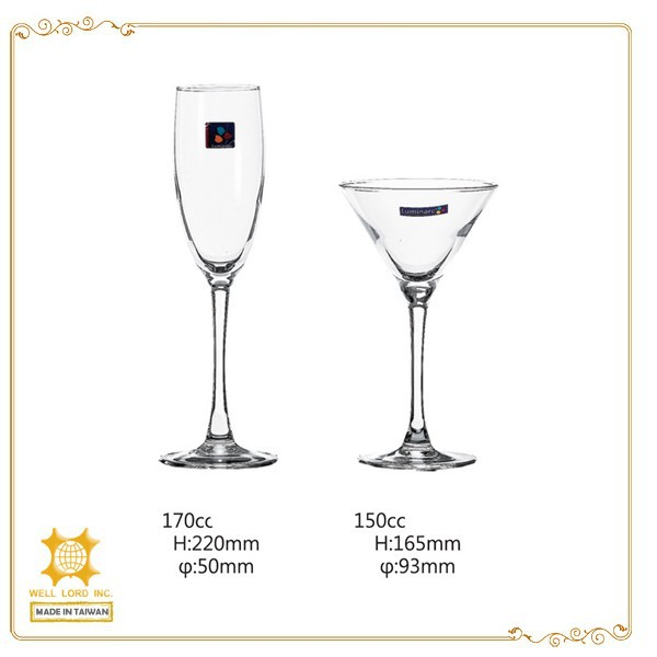 New item fashion layout decorative goblet glass