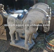 Chinese antique stone horse, garden statues