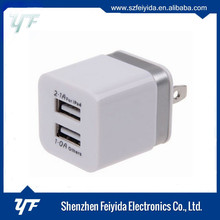 Factory OEM 18W USB Wall Charger adapter Support Qual Quick Charge 3.0 US plug 3.0 Adapter Charger