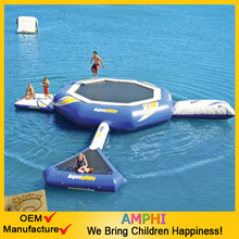 Best sale like a stick lollipop inflatable water bounding table