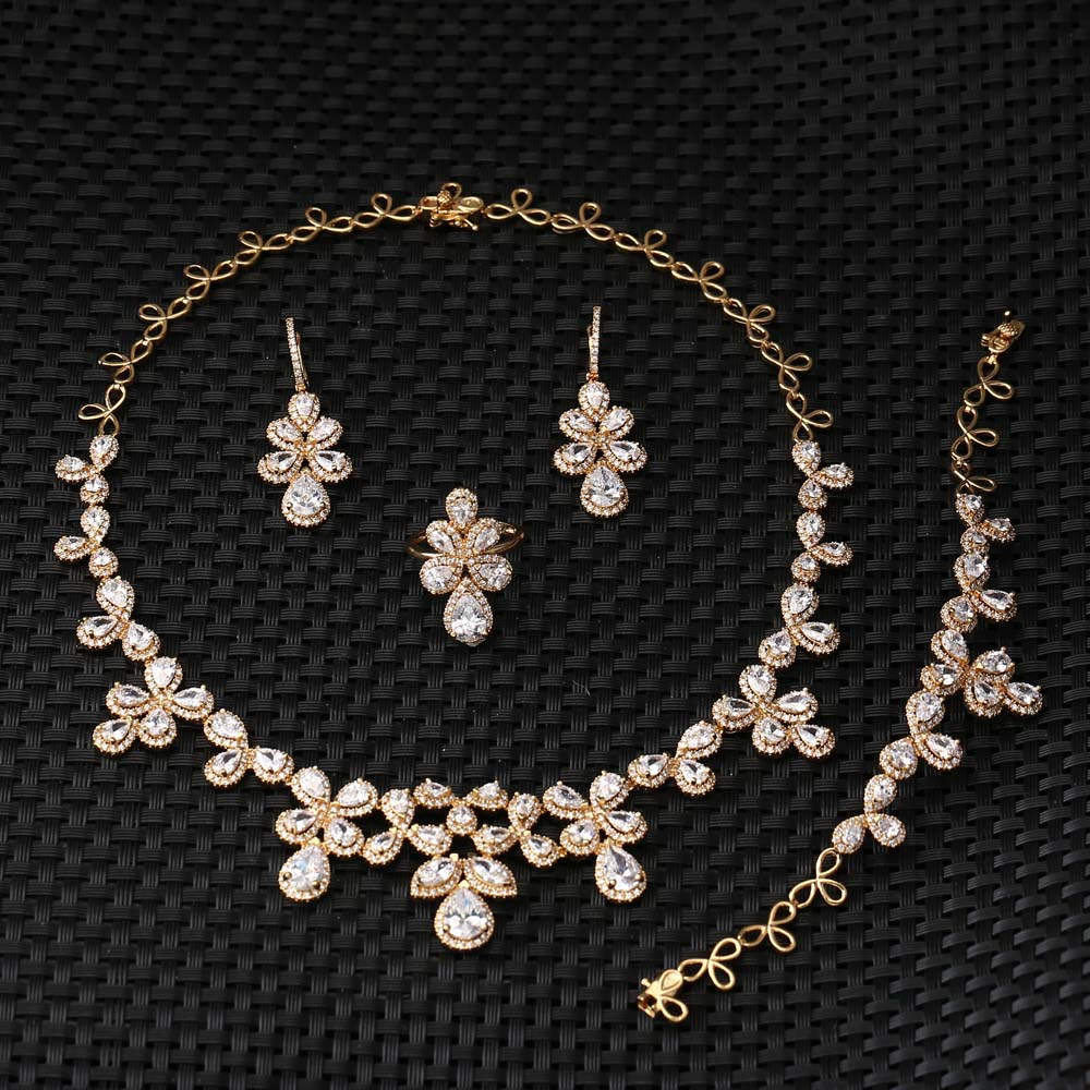 Fashion alibaba brass coral beads necklace bridal jewelry set E-7328