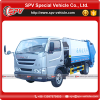 China IVECO 4cbm garbage compactor vehicle