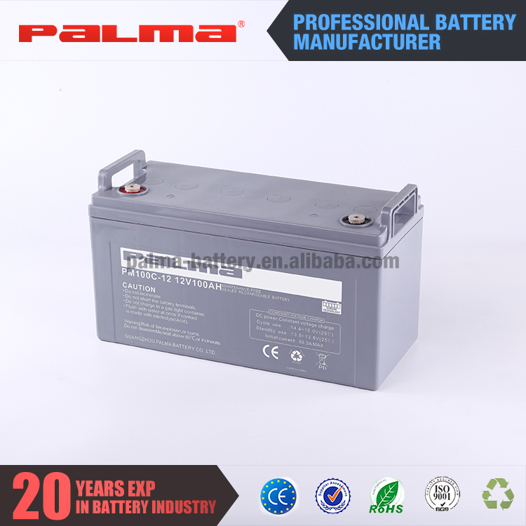 Best 12V 100ah high quality efficiency 12 volt 100ah lifepo4 sealed lead acid battery pack