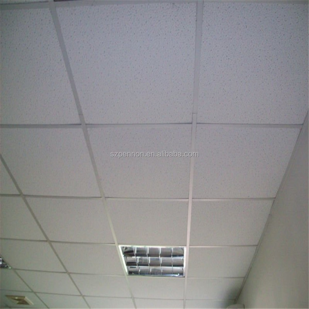 600X600 Interior Decoration Acoustic Mineral Fiber Ceiling Board