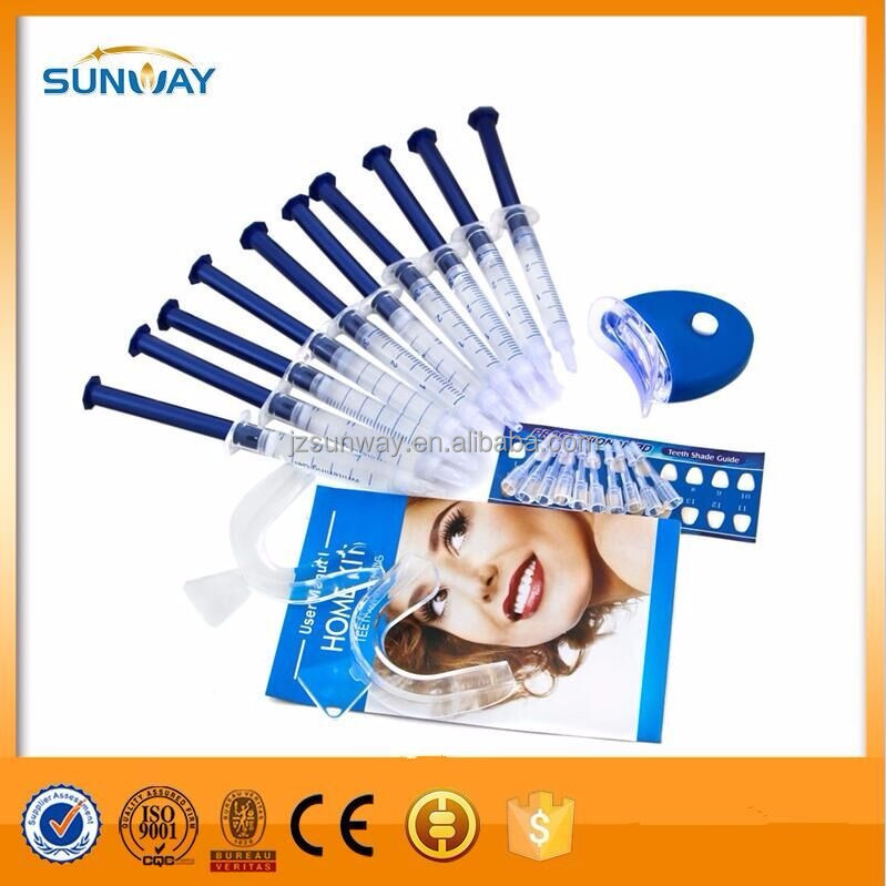 2016 Wholesale non peroxide LED teeth whitening kit