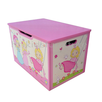 55 5x37x h 33 5cm E1 Mdf Easy Assembly Princess Style Pink